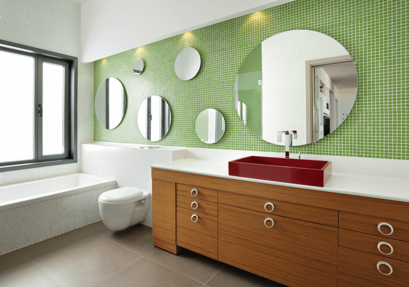 38 Bathroom Mirror Ideas To Reflect Your Style Freshome intended for dimensions 1422 X 1000