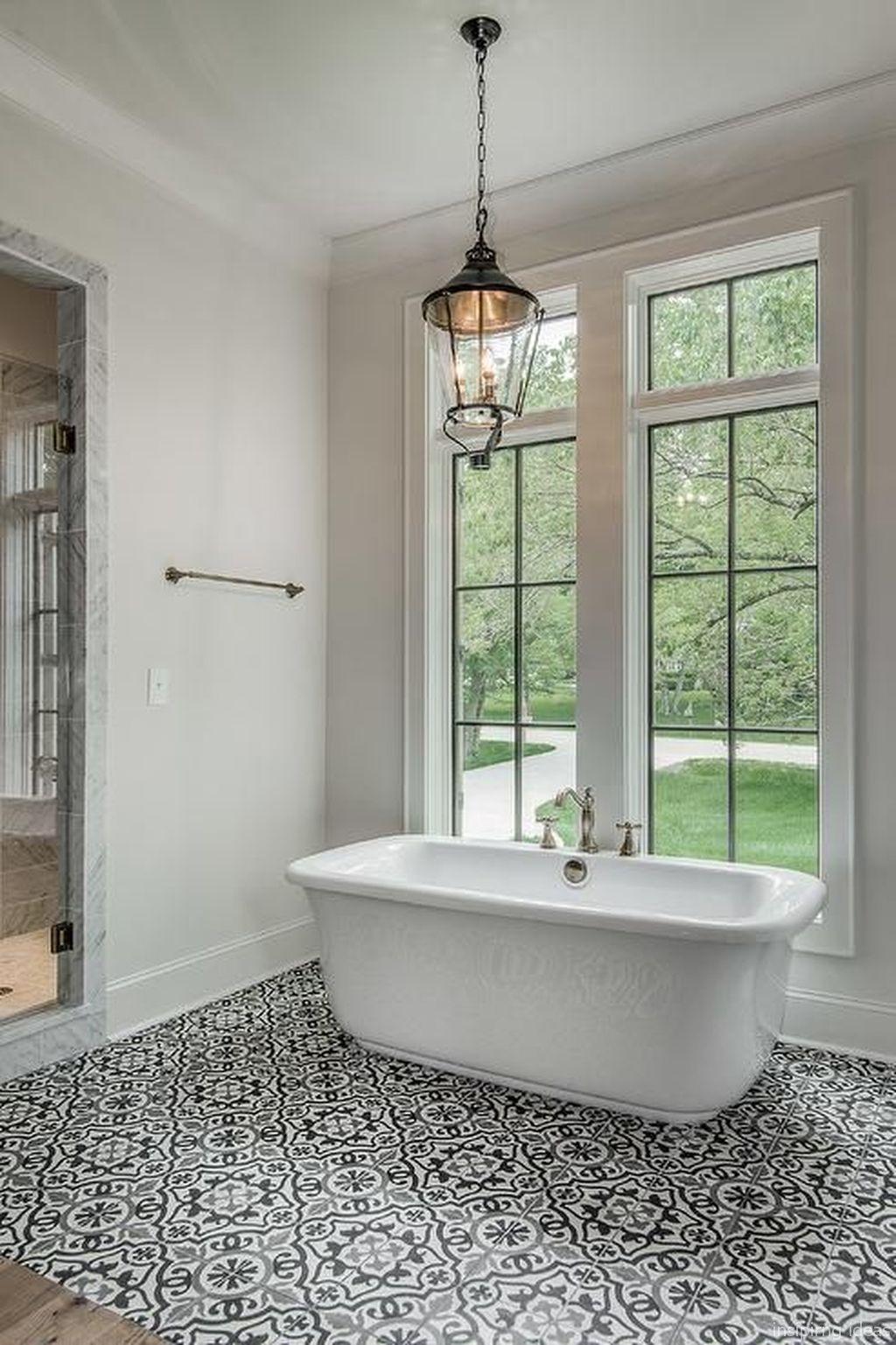 67 Incredible Modern Farmhouse Bathroom Tile Ideas Home with proportions 1024 X 1537
