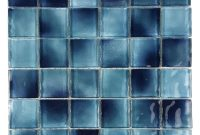 Abolos Blue Mosaic 2 In X 2 In Glossy Pool Rated Glass Mesh Mounted Decorative Bathroom Wall Backsplash Tile 098 Sq Ft regarding sizing 1000 X 1000