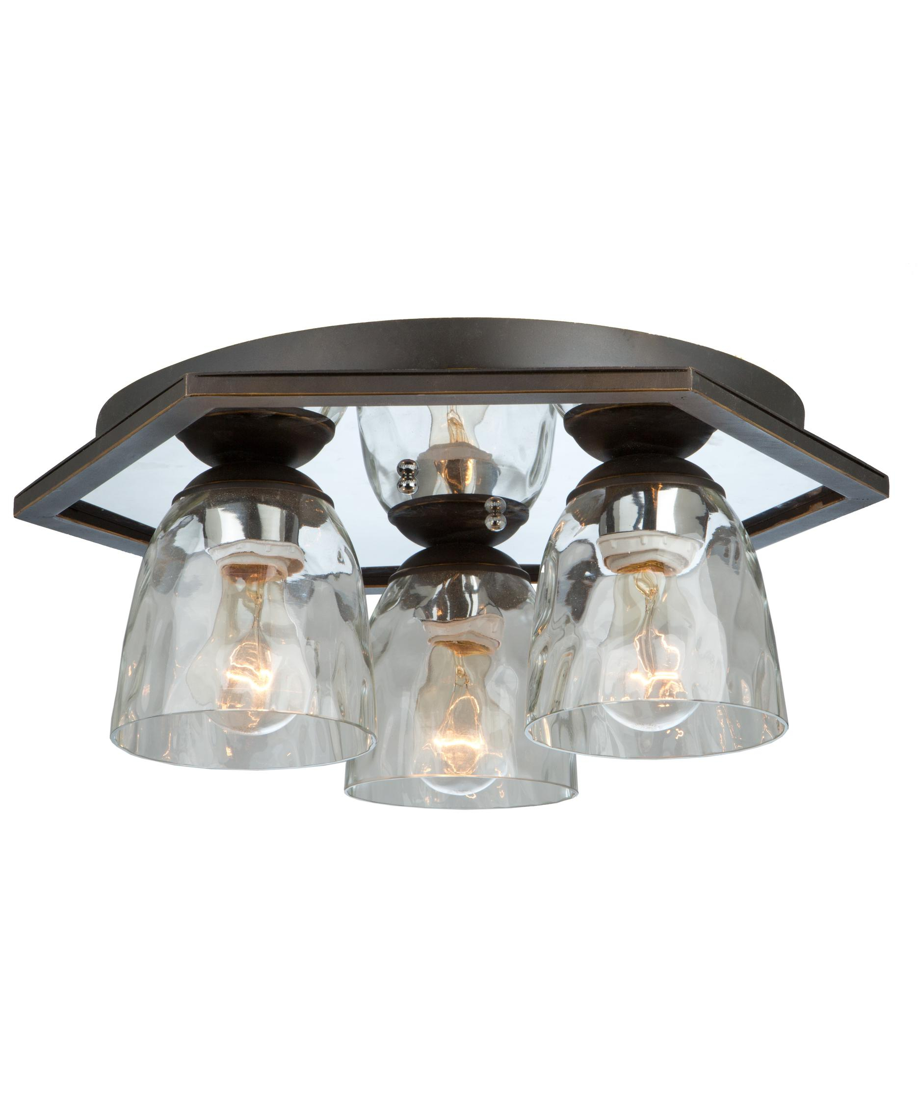 Ac10224ob Kent 18 3 Light Flush Mount In Oil Rubbed Bronze Artcraft Lighting in sizing 1875 X 2250