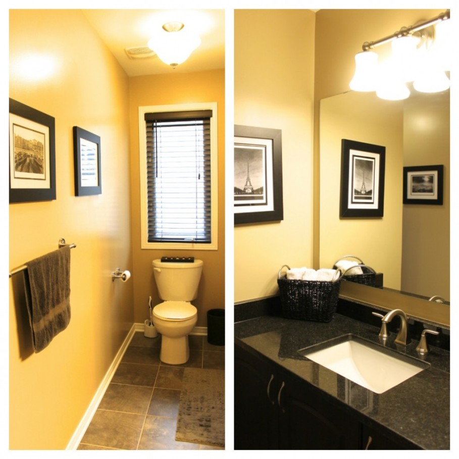 Admirable Yellow Bathroom Decor With Toilet Seat And Towel within measurements 909 X 909