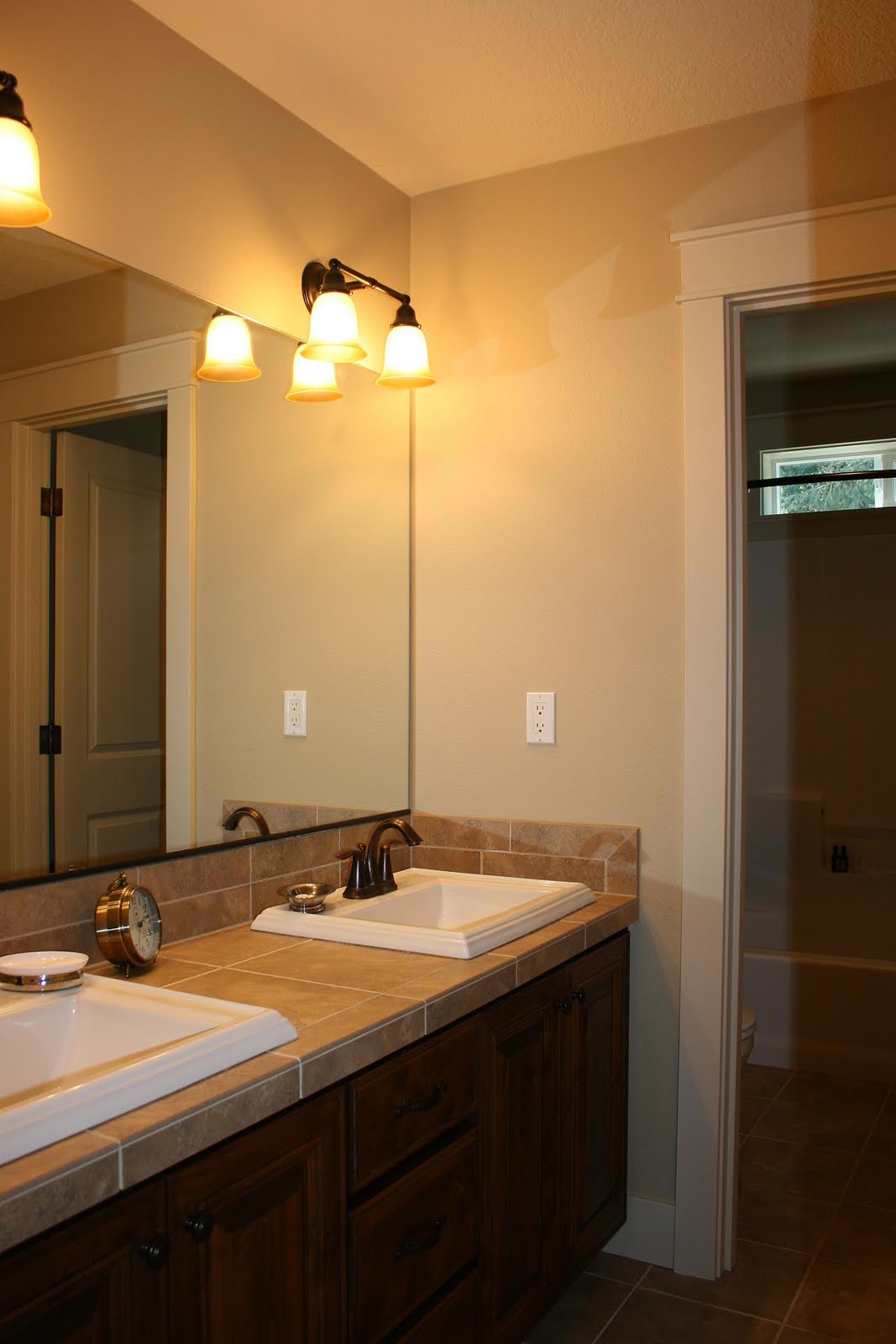 Astounding Bathroom Vanity Light Bar Height Fixture Dou For in dimensions 1067 X 1600