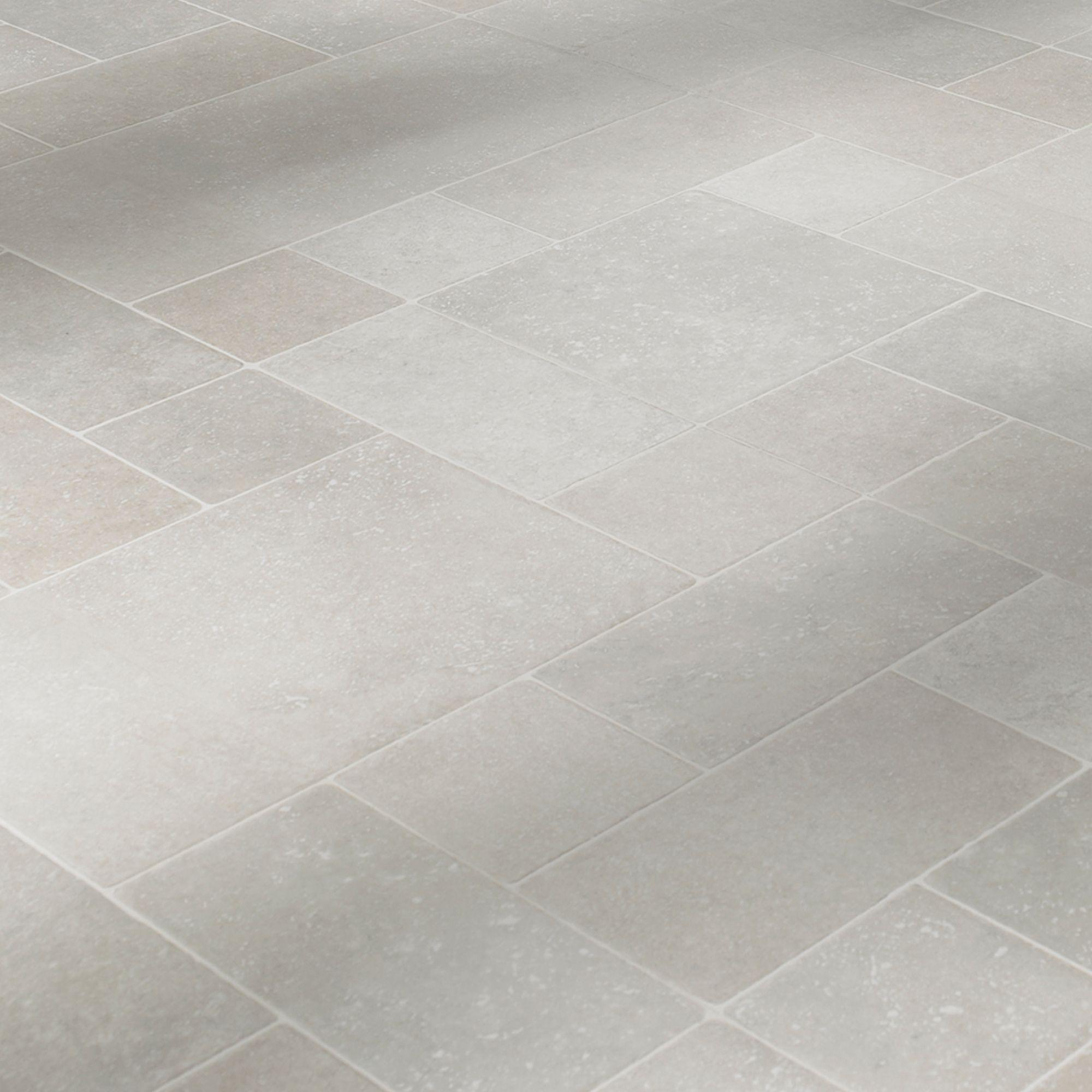 Barbarita Random Limestone Tile Effect Laminate Flooring for size 2000 X 2000
