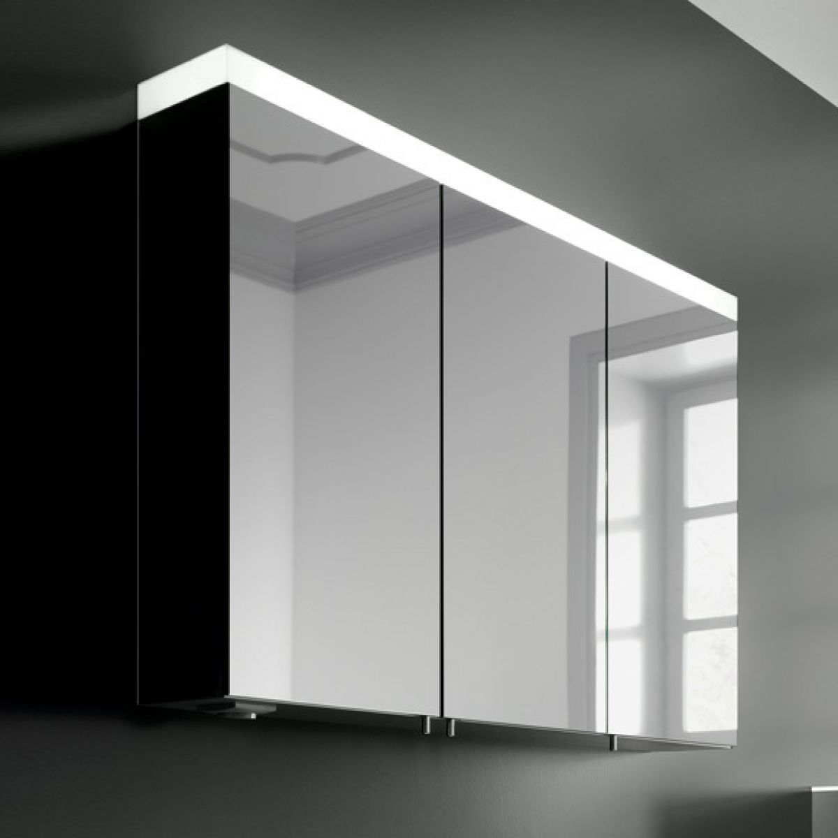 Bathroom Cabinets Also Available With Mirrors Lights Uk with regard to sizing 1200 X 1200