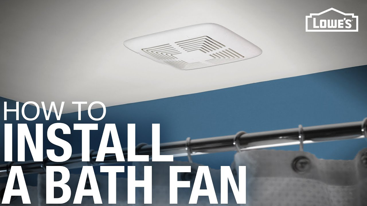 Bathroom Exhaust Fans A Homeowners Guide for measurements 1280 X 720