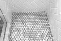 Bathroom Floor Tile Herringbone Beveled White Subway Tile for dimensions 1500 X 2000