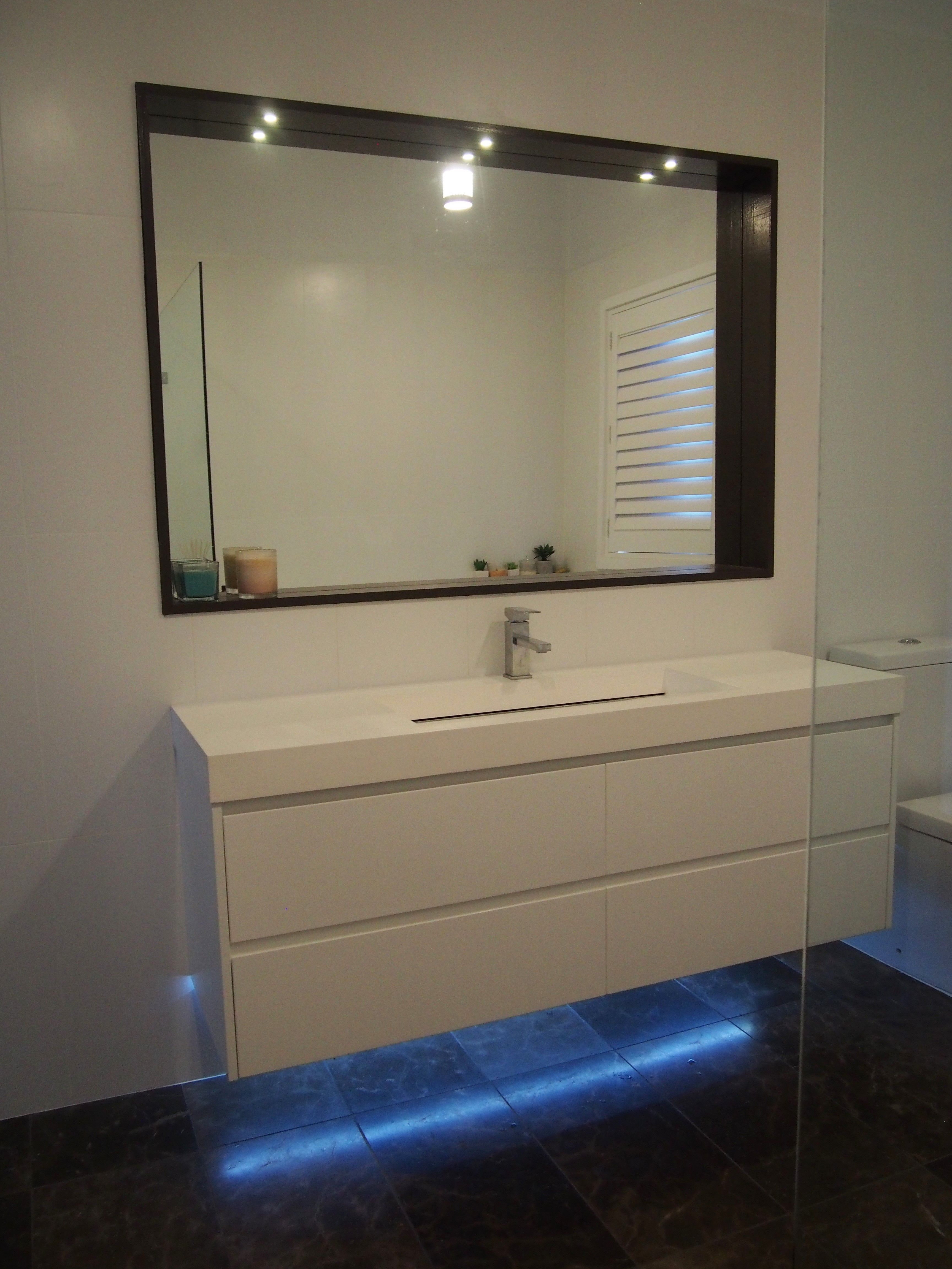 Bathroom Lighting Led Recessed Mirror Lights Under Vanity with regard to proportions 3456 X 4608