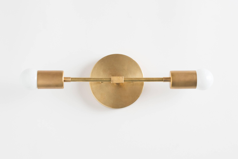 Bathroom Lights Vanity Lighting Mid Century Modern Brass Vanity Bathroom Lighting Gold Sconce with regard to measurements 3000 X 2002