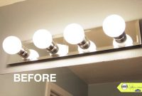 Bathroom Makeover Tip Replace Your Bathroom Lighting within measurements 1280 X 720