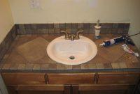 Bathroom Vanity Tile Countertop My Projects Bathroom regarding dimensions 1600 X 1200