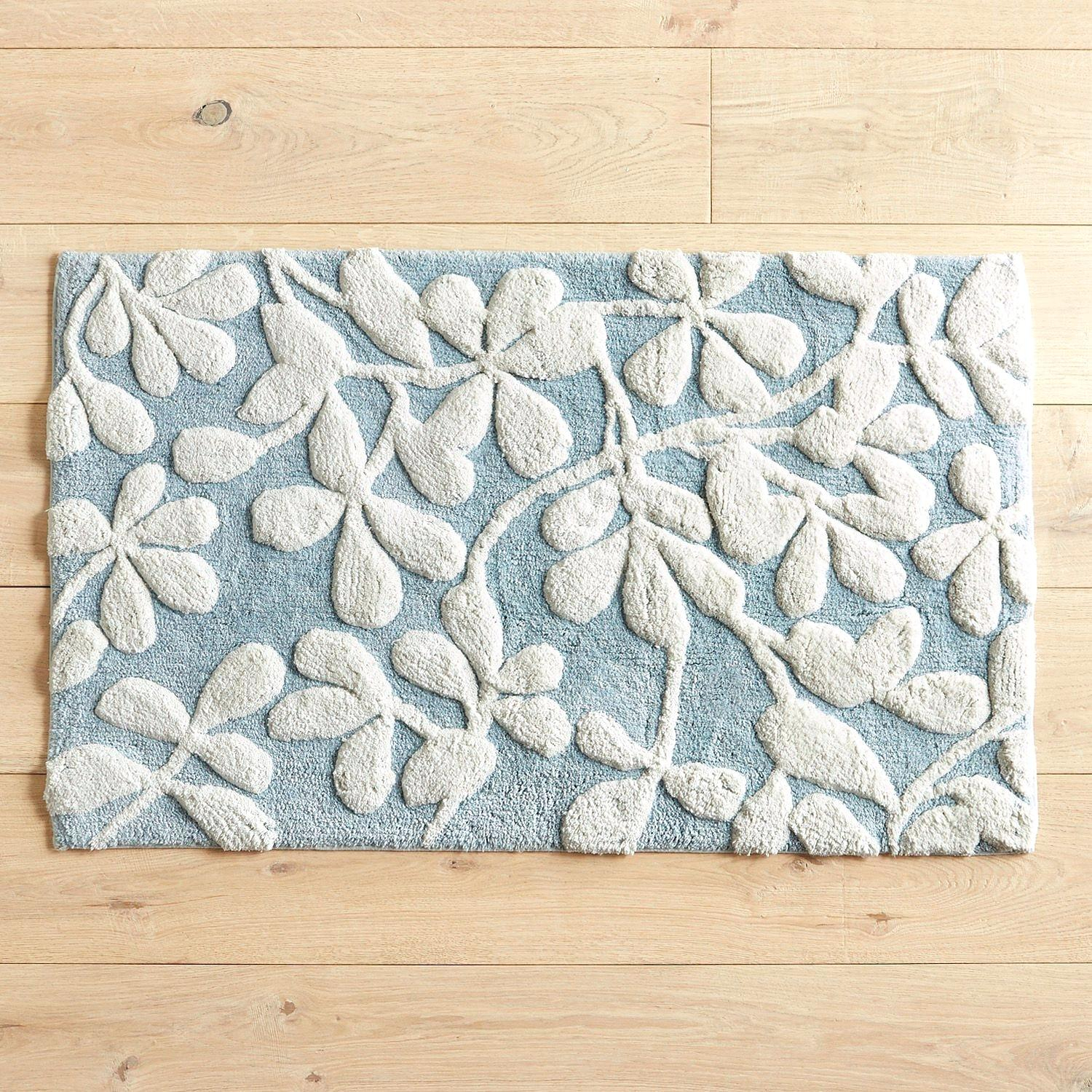 Blue Bath Rugs Kilarco for proportions 1500 X 1500