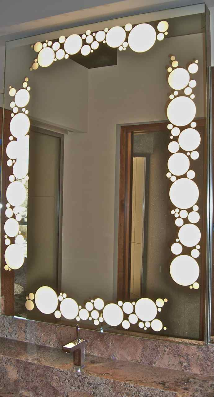 Decorative Bathroom Mirrors Sans Soucie Art Glass with sizing 690 X 1280