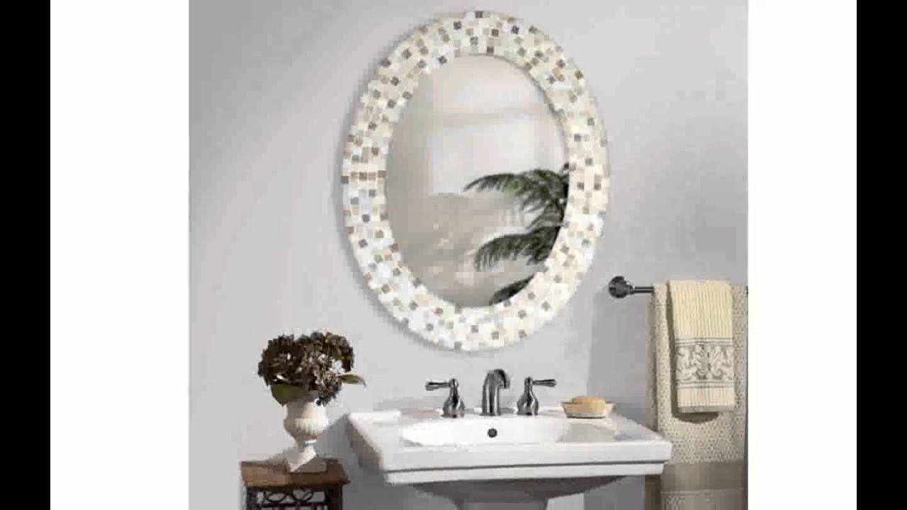 Decorative Mirrors For Bathroom with measurements 1280 X 720