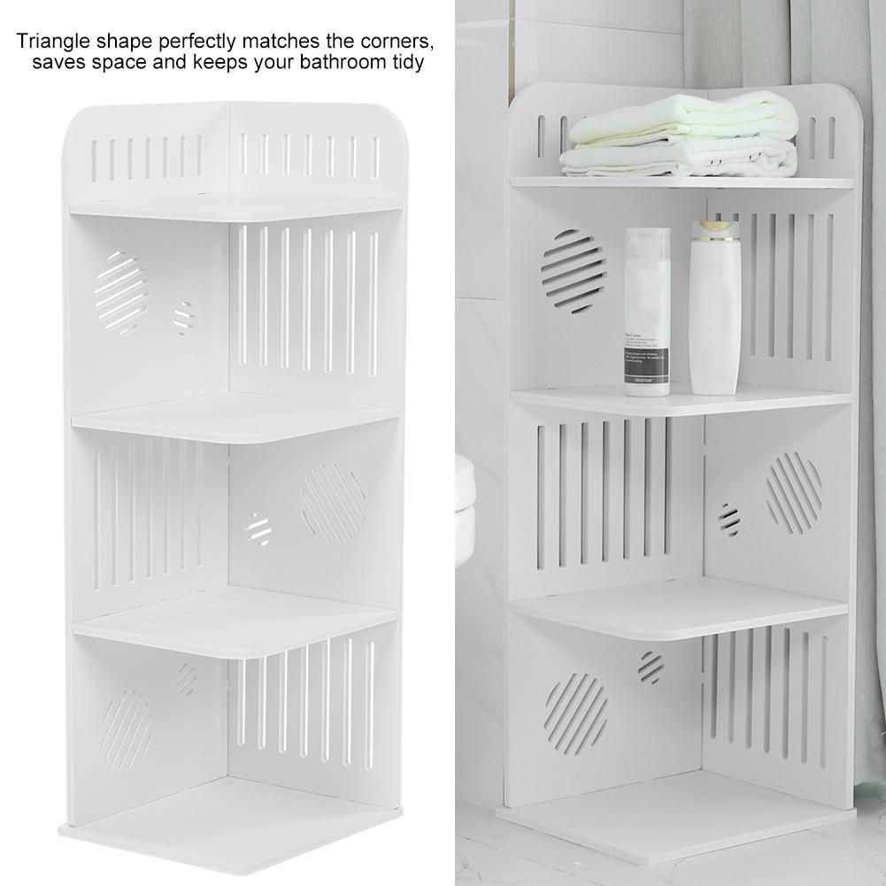 Details About 4 Tier Shower Corner Display Organizer Bathroom Storage Rack Bookcase Book Shelf for measurements 1001 X 1001