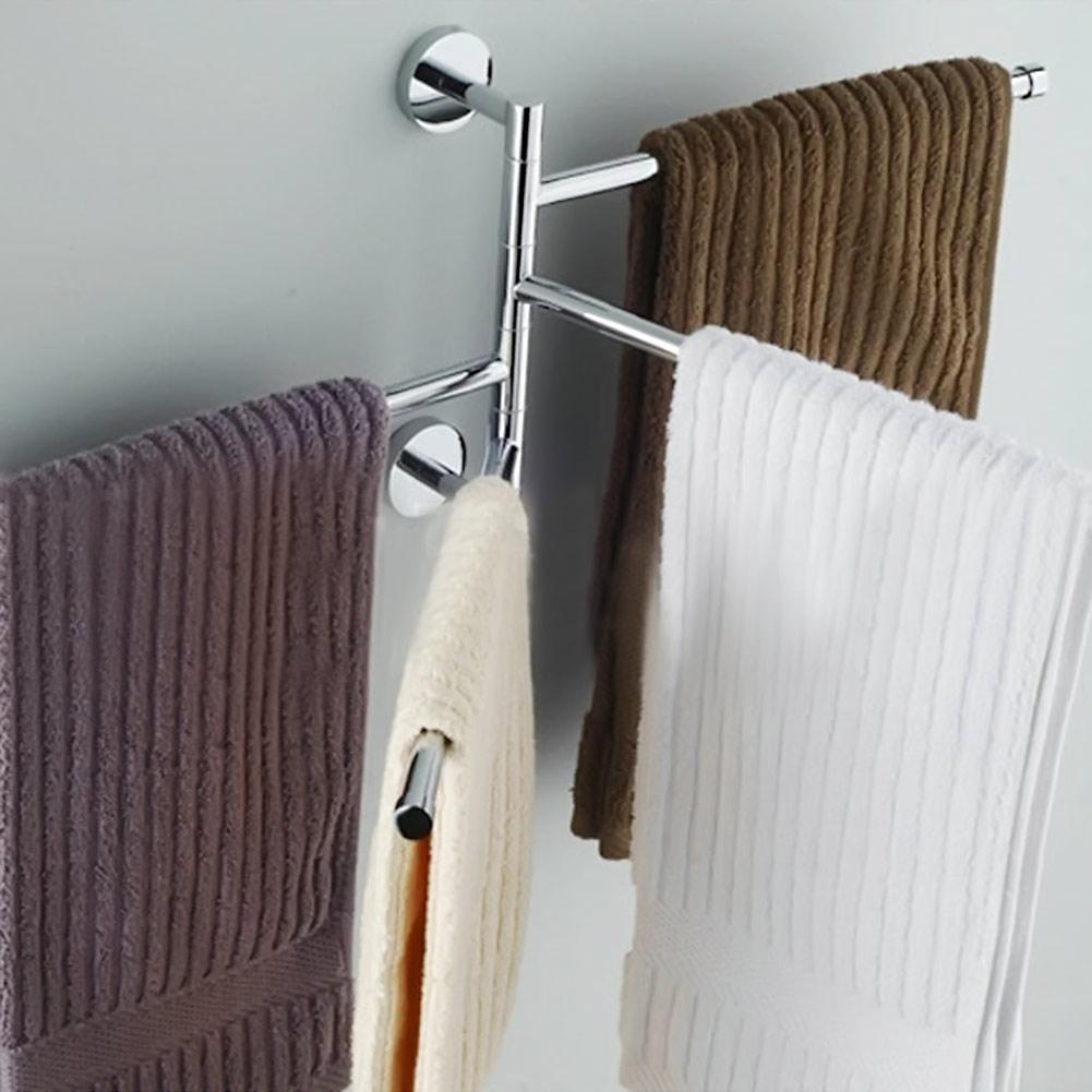 Details About Bathroom Towel Rack Hanging Storage Holder Shower Organizer Swivel Rail Shelf throughout measurements 1001 X 1001