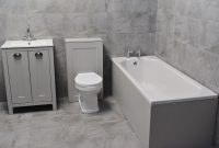 Details About Der Light Grey Bathroom Suite Vanity Sink Unit Toilet Bath pertaining to size 1800 X 1800