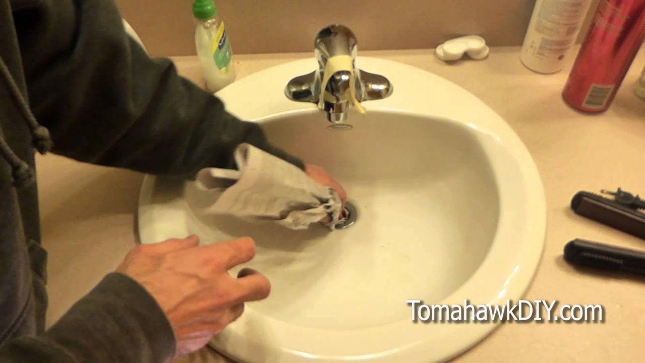 Easy To Fix A Clogged Sink No Tools Needed regarding size 1280 X 720
