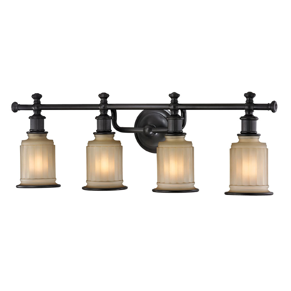 Elk 52013 4 Acadia Oil Rubbed Bronze 4 Light Bathroom Light Fixture pertaining to dimensions 1000 X 1000