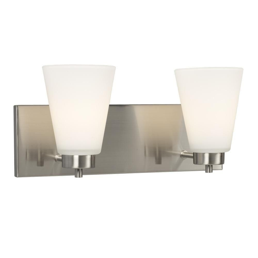 Filament Design Negron 2 Light Brushed Nickel Incandescent within measurements 1000 X 1000