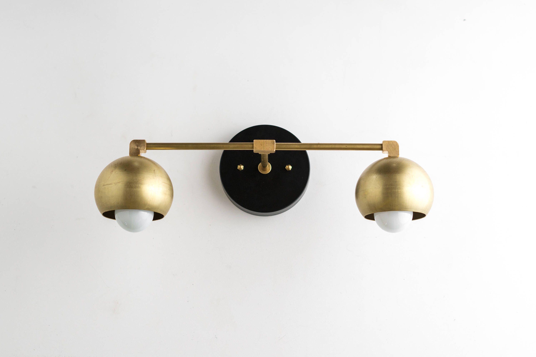 Gold Vanity Lights Bathroom Lamp Mid Century Bathroom regarding measurements 3000 X 2001