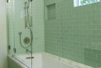 Green Bathroom Tile Bathroom Bathroom Glass Tile within measurements 954 X 1191