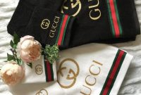 Gucci Towels Set Of 3 Home Decor In 2019 Gucci Ba within proportions 768 X 1024