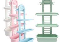 Honana Bs 415 Bathroom Shower Caddy Plastic Organizer Shelves Shampoo Soap Razor Holder Rack Adjustable 3 Layer Caddy Organizer Holder pertaining to size 1200 X 1200