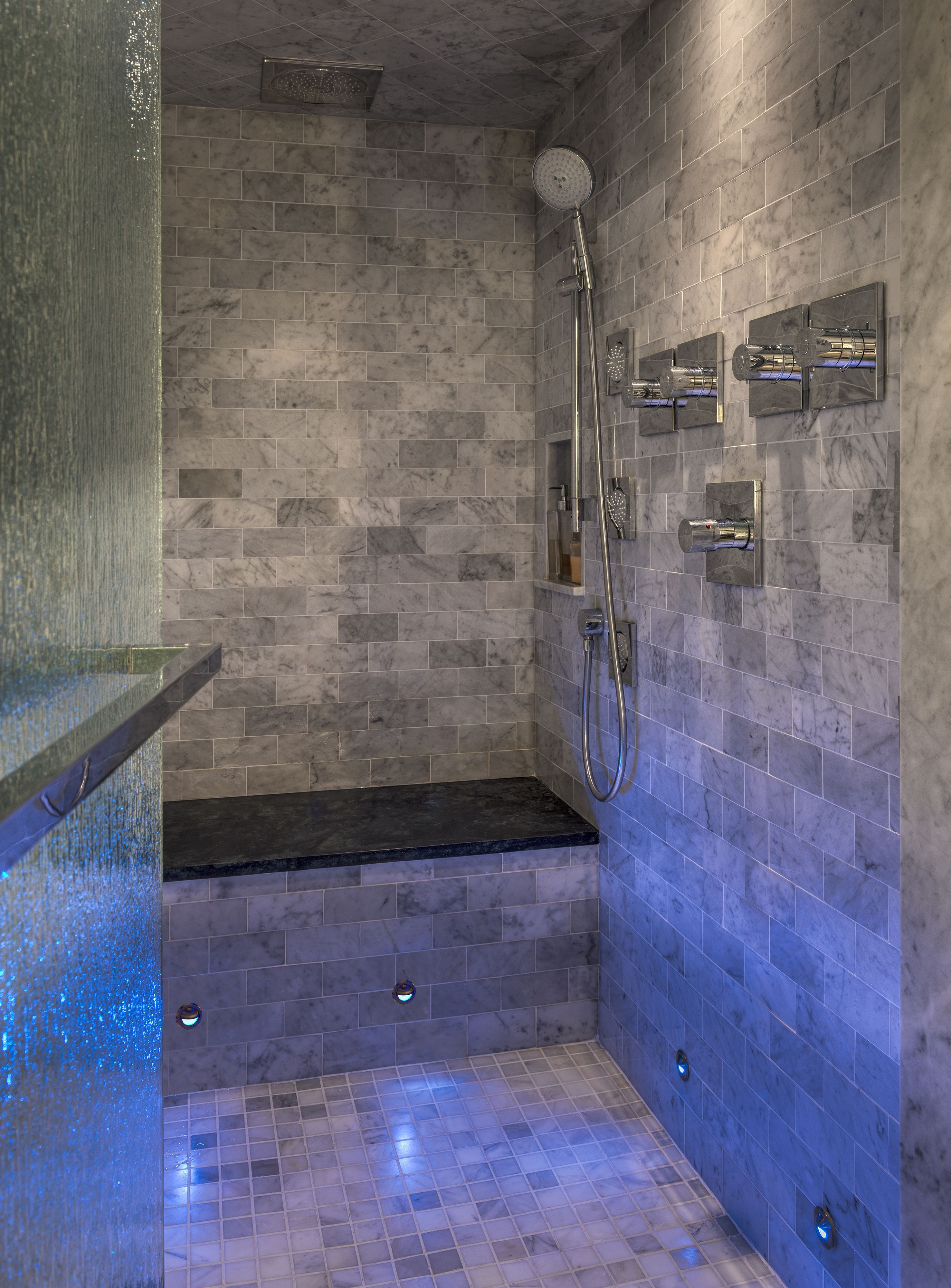 Illuminate A Shower With Led Lighting Create A Spa Like with size 2953 X 4000