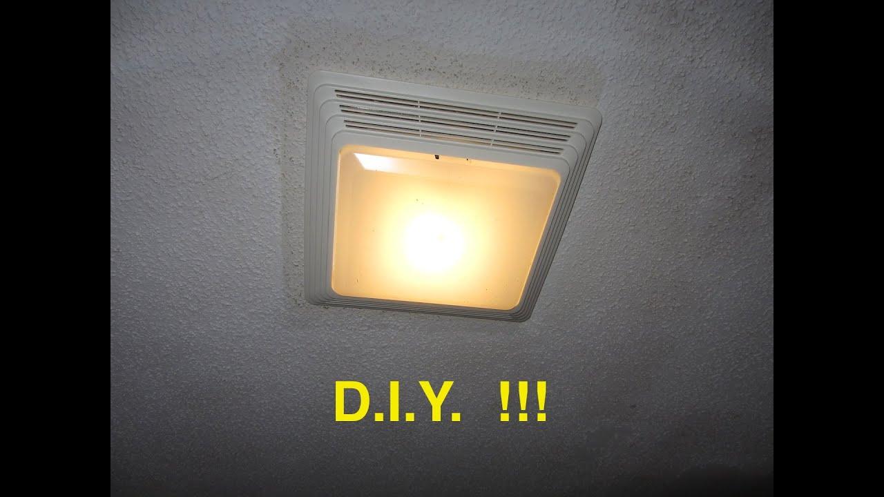 Installing A Bathroom Fan Light Ez for dimensions 1280 X 720