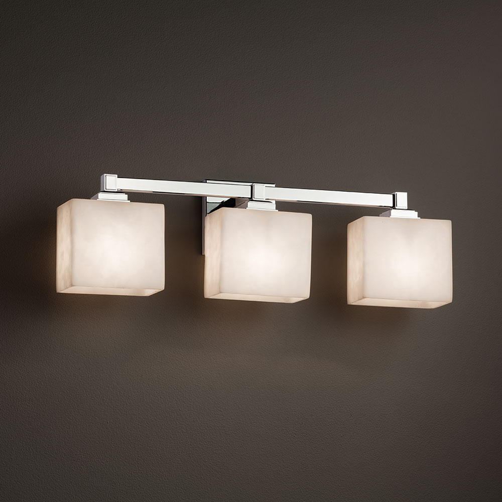 Justice Design Cld 8433 Regency Clouds 3 Light Bathroom Vanity Light Fixture with regard to sizing 1000 X 1000