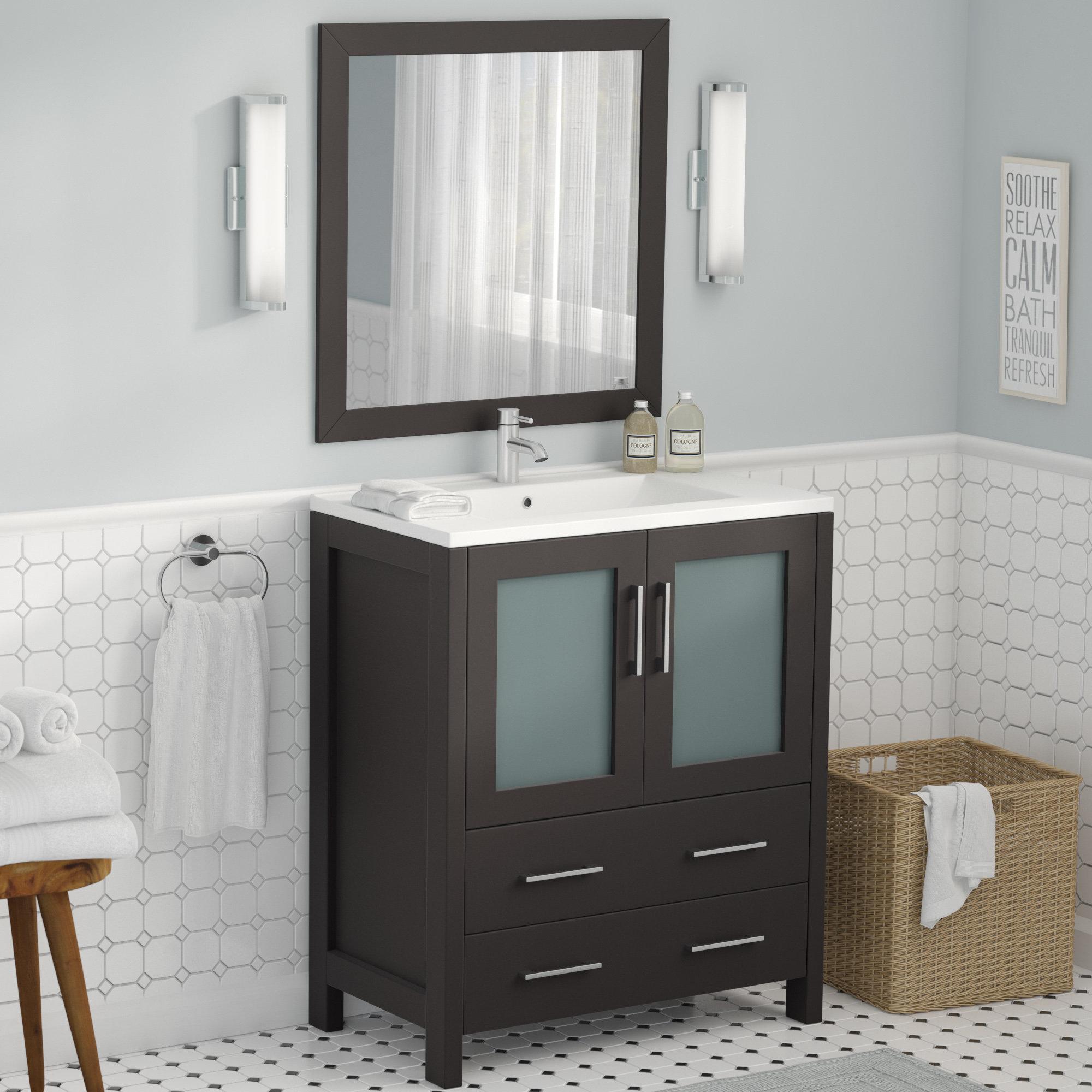 Karson 30 Single Bathroom Vanity Set With Mirror for measurements 2000 X 2000