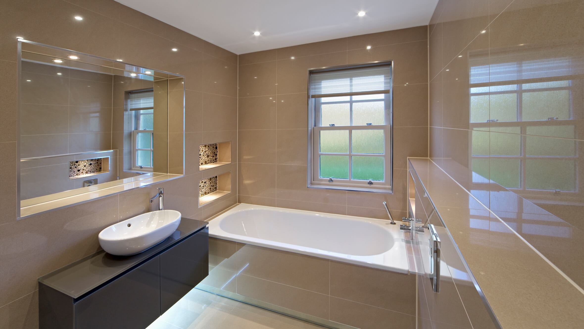 Led Downlights Bathroom Homswet throughout dimensions 2360 X 1328