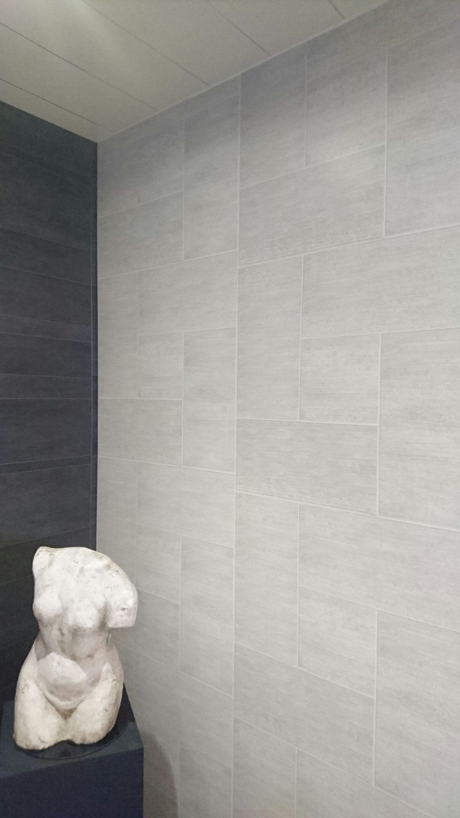 Light Grey Tile 26mtrs X 600mm X 7mm Per Sheet intended for measurements 899 X 1599