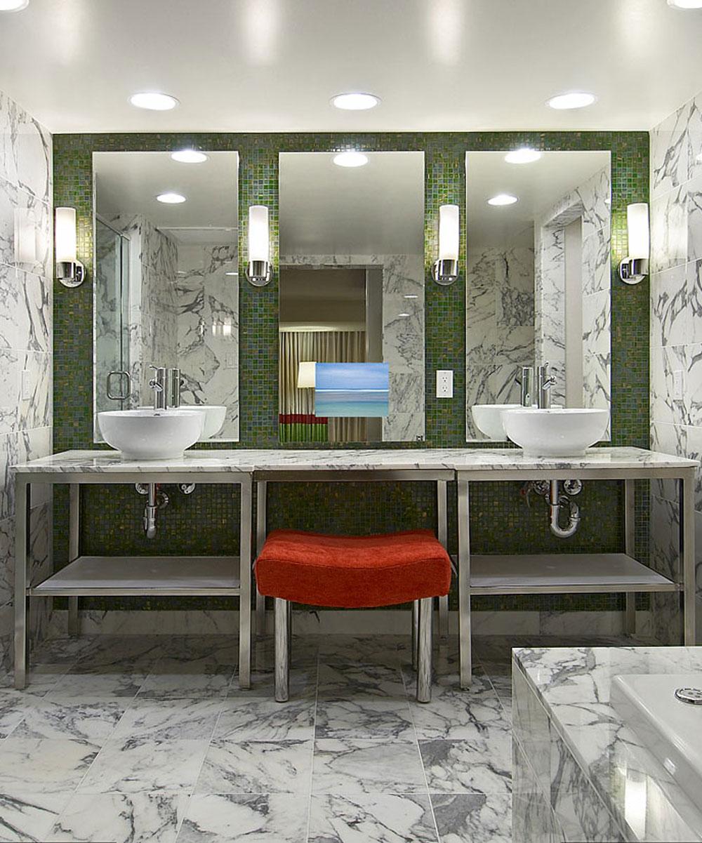Loft Bathroom Mirror Tv Electric Mirror with regard to dimensions 1000 X 1201