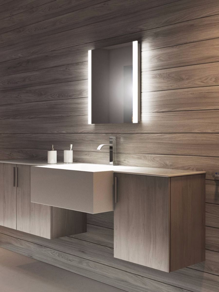 Lucent Tall Led Bathroom Mirror pertaining to proportions 900 X 1200