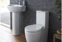 Milano Bathroom Toilet Wc And Basin Sink Set With Soft Close within sizing 1200 X 1200