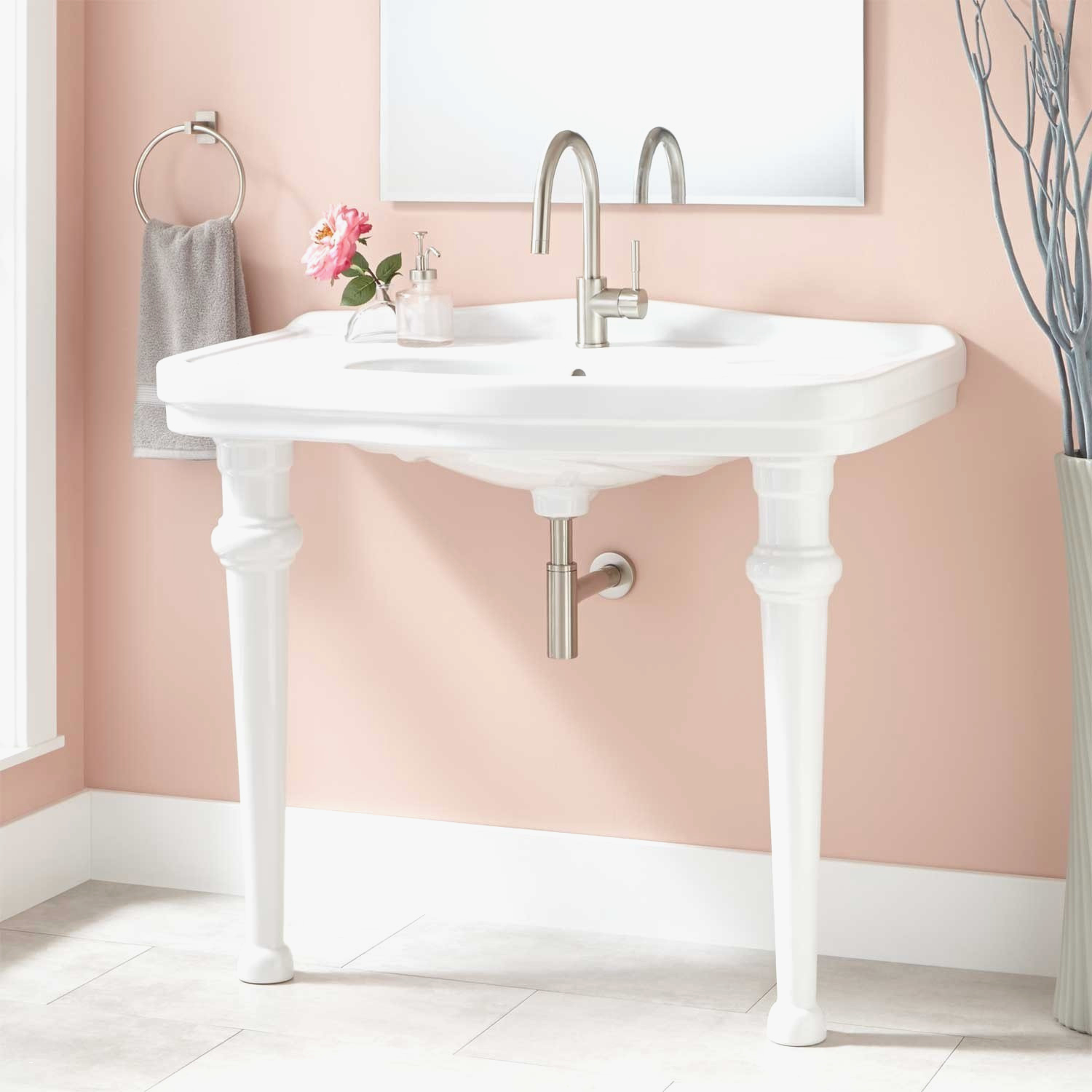 Narrow Bathroom Sinks And Vanities Lovely Small Bathroom regarding proportions 1500 X 1500