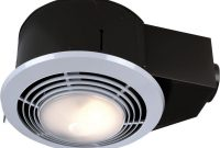 Nutone 100 Cfm Ceiling Bathroom Exhaust Fan With Light And Heater throughout proportions 1000 X 1000