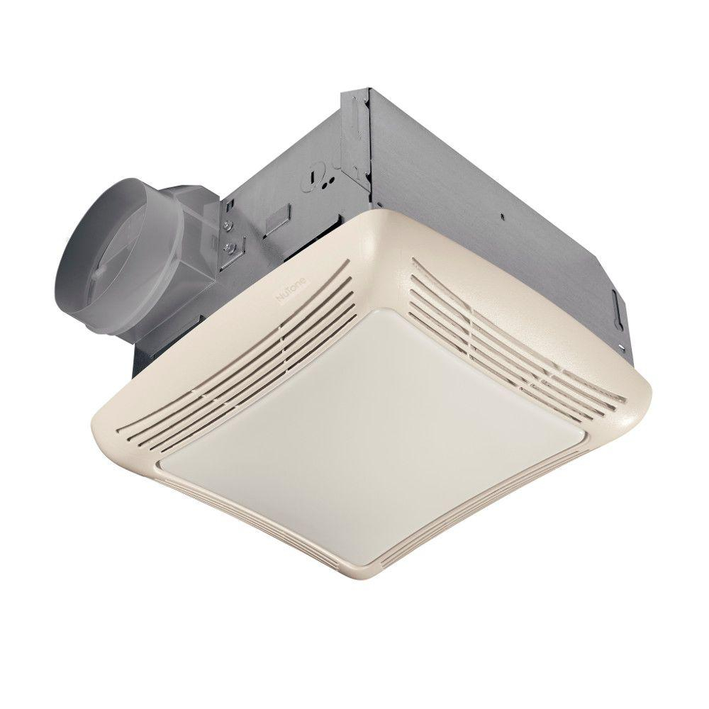 Nutone 50 Cfm Ceiling Bathroom Exhaust Fan With Light throughout proportions 1000 X 1000