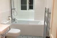 Our New Bathroom Berkeley Slate Blue Tiles And White Metro inside size 2448 X 3264