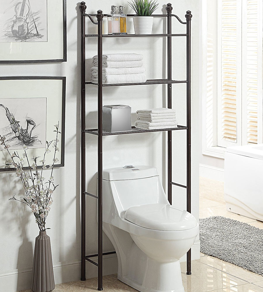 Over Toilet Bathroom Shelves with size 900 X 1000