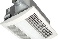 Panasonic Whisperwarm Lite 110 Cfm Ceiling Exhaust Fan With Light And Heater Quiet Energy Efficient And Easy To Install for dimensions 1000 X 1000