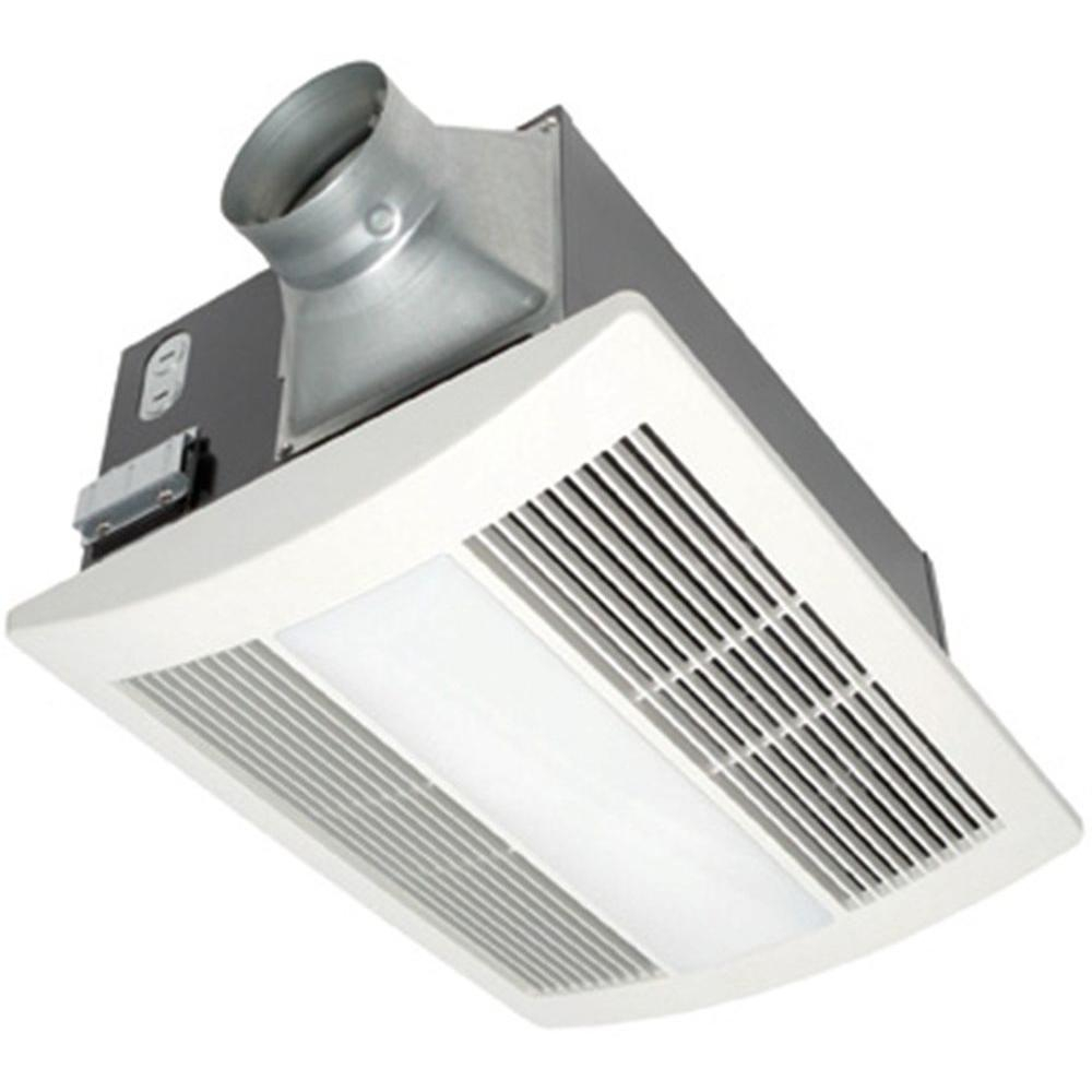 Panasonic Whisperwarm Lite 110 Cfm Ceiling Exhaust Fan With Light And Heater Quiet Energy Efficient And Easy To Install intended for size 1000 X 1000