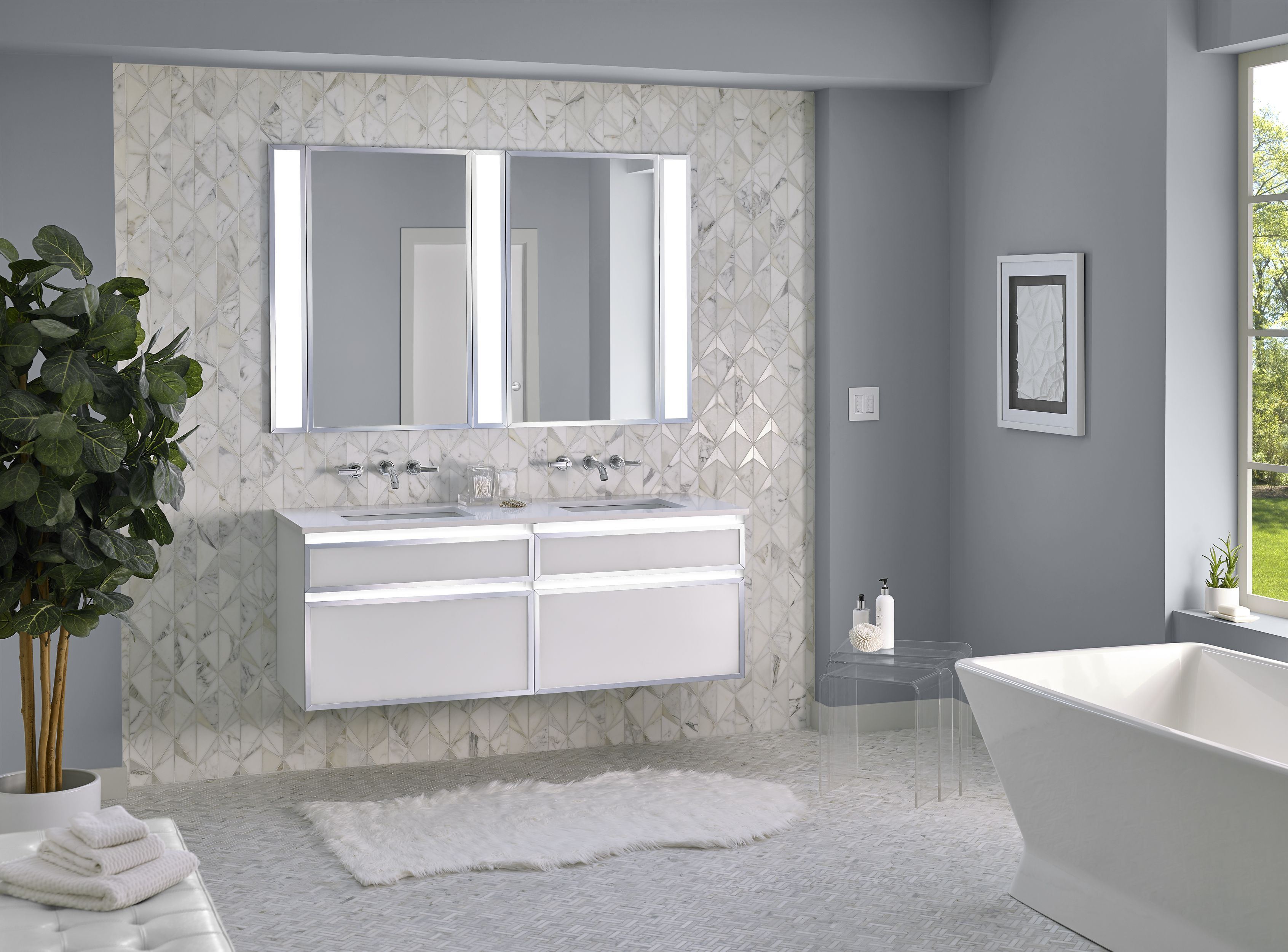 Profiles Lighting Bathroom Lighting Tips Bathroom with regard to size 3383 X 2500