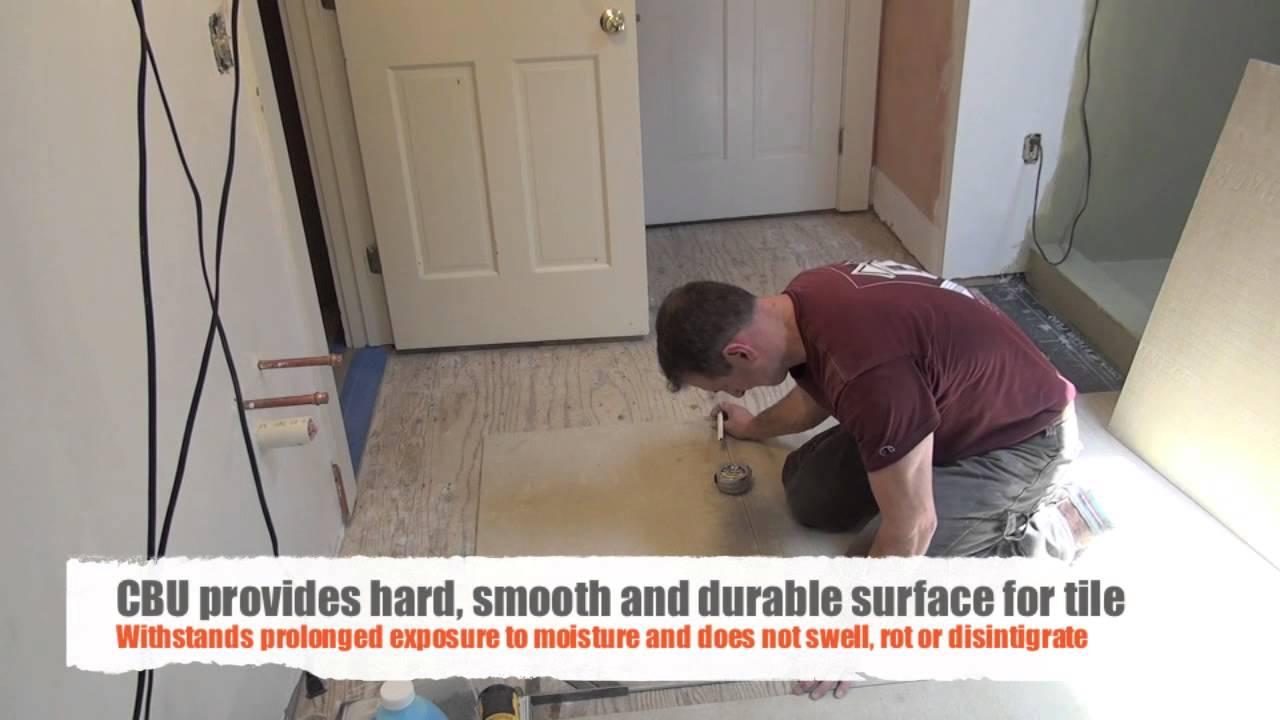 Bathroom Floor Underlayment For Tile • Bathtub Ideas