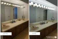 Replacing A Light Fixture On A Vanity Mirror intended for proportions 1200 X 831