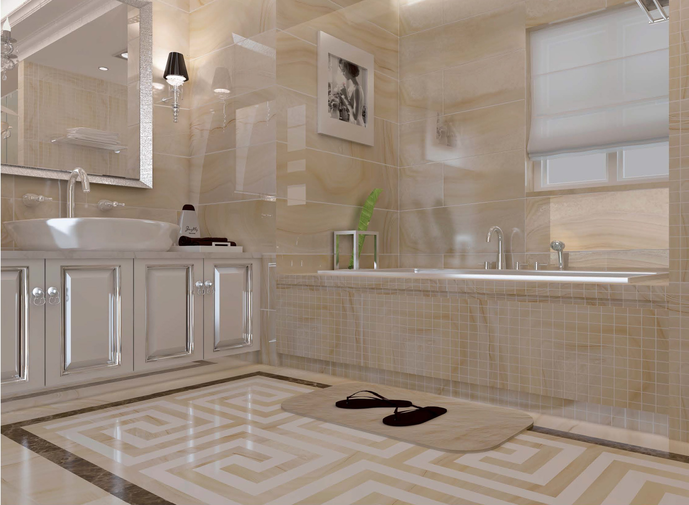 Savona Tile Glazed Full Polished Tile Savona Tile in proportions 2238 X 1640