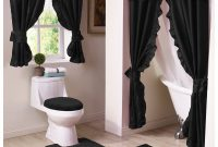 Shower Window Curtain Bathroom Sets And Matching Bath Vinyl pertaining to measurements 1546 X 1546
