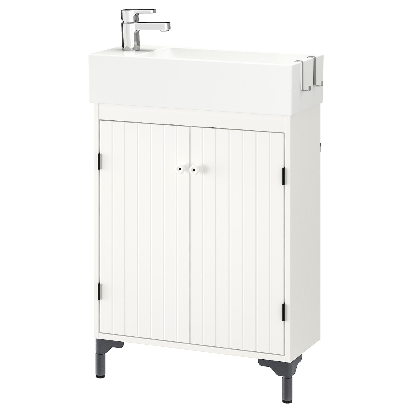 Silvern Lillngen Sink Cabinet With 2 Doors White Ensen Faucet with regard to sizing 2000 X 2000