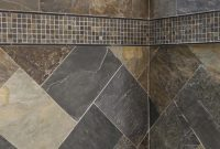 Simple Shower Design Using All Natural Slate Tiles within sizing 3697 X 5545